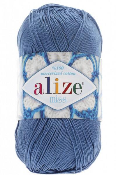 Poze Fir de tricotat sau crosetat - Fir BUMBAC 100% ALIZE MISS BLEO 303