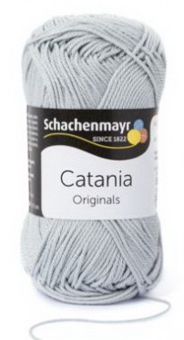 Poze Fir de tricotat sau crosetat - Fir BUMBAC 100% MERCERIZAT CATANIA SILBER 172