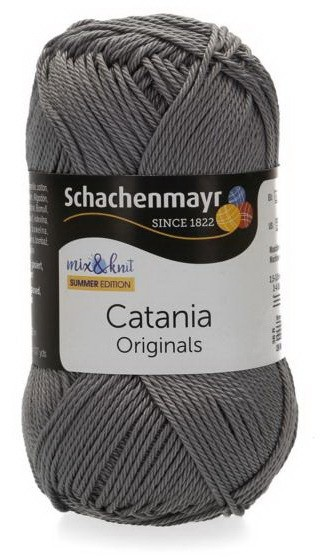 Poze Fir de tricotat sau crosetat - Fir BUMBAC 100% MERCERIZAT CATANIA RAUCHGRAU 435