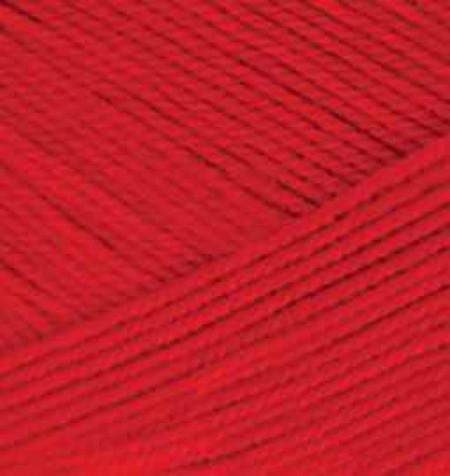 Poze Fir de tricotat sau crosetat - Fir microfibra ALIZE FOREVER ROSU 106