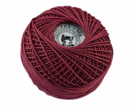 Poze Fir de tricotat sau crosetat - Fire Bumbac 100% ANGELICA ROMANOFIR BOBINA ROZ 1215