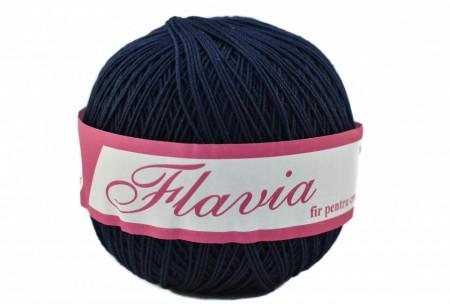 Poze Fir de tricotat sau crosetat - Fire Bumbac 100% FLAVIA ROMANOFIR BOBINA BLEUMARIN 108