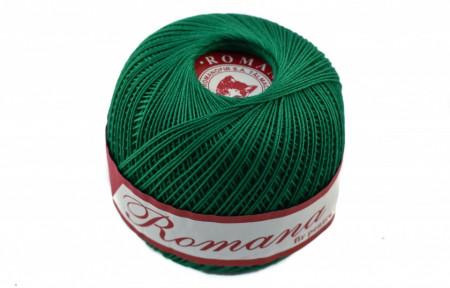Poze Fir de tricotat sau crosetat - Fire Bumbac 100% ROMANA - ROMANOFIR BOBINA VERDE 1252
