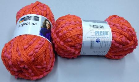 Poze Fir de tricotat sau crosetat - Fire pretricotat esarfa Argentina A136