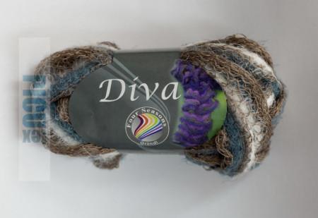 Poze Fir de tricotat sau crosetat - Fire pretricotat esarfa GRUNDL DIVA DEGRADE 03