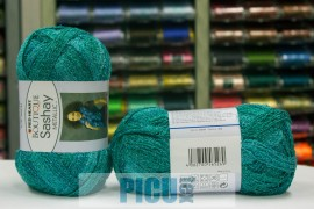 Poze Fir de tricotat sau crosetat - Fire pretricotate esarfa SASHAY METALIC 09944