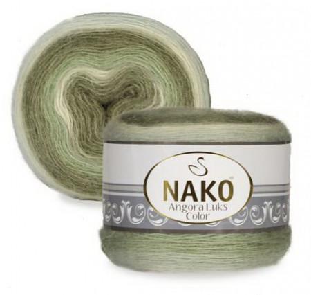 Poze Fir de tricotat sau crosetat - Fire tip mohair acril NAKO ANGORA LUKS COLOR 82361