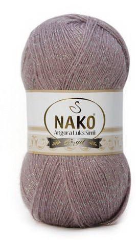 Poze Fir de tricotat sau crosetat - Fire tip mohair acril NAKO ANGORA LUKS SIMLI COD 10155