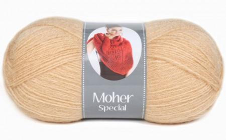 Poze Fir de tricotat sau crosetat - Fire tip mohair acril NAKO MOHER SPECIAL BEJ 219
