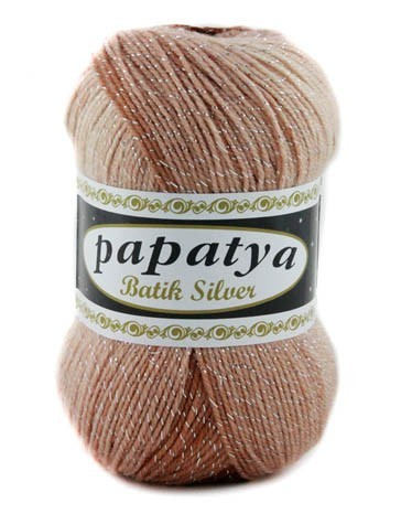 Poze Fir de tricotat sau crosetat - Fire tip mohair din acril Kamgarn Papatya Silver Batik degrade 02