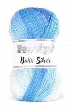 Poze Fir de tricotat sau crosetat - Fire tip mohair din acril Kamgarn Papatya Silver Batik degrade 10