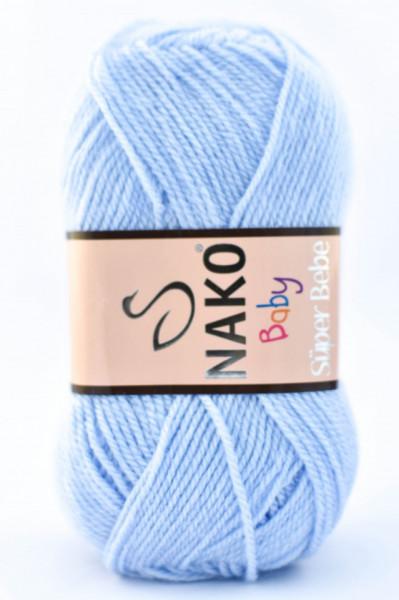 Poze Fir de tricotat sau crosetat - Fire tip mohair din acril Nako SUPER BEBE BLEO 23070