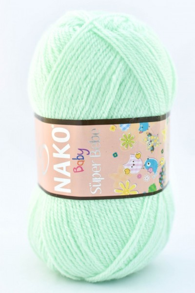 Poze Fir de tricotat sau crosetat - Fire tip mohair din acril Nako SUPER BEBE VERNIL 2587