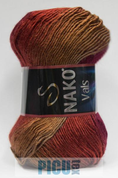 Poze Fir de tricotat sau crosetat - Fire tip mohair din acril premium Nako VALS DEGRADE 86384