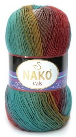Poze Fir de tricotat sau crosetat - Fire tip mohair din acril premium Nako VALS DEGRADE 86621