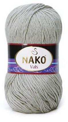 Poze Fir de tricotat sau crosetat - Fire tip mohair din acril premium Nako VALS GRI 130