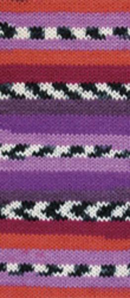 Poze Fir de tricotat sau crosetat - Fire tip mohair din lana si polyamida Nako BOHO mix 81253