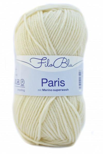 Poze Fir de tricotat sau crosetat - Fire tip mohair din poliester Filo Blu - PARIS - 02 - CREAM