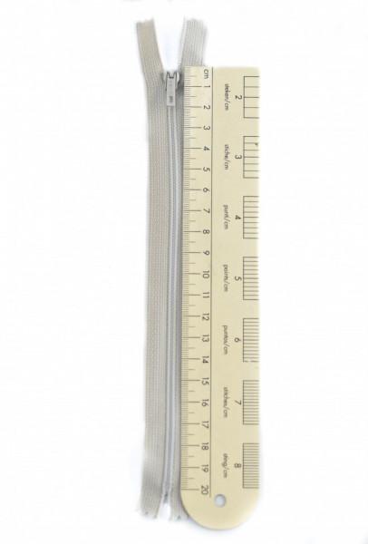 Poze Fermoare - 20 cm - Culoare Gri- COD - 2029 -