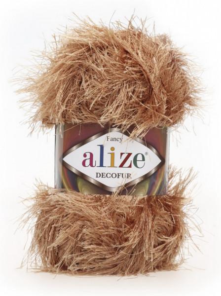 Poze Fir de tricotat sau crosetat - FANCY - ALIZE DECOFUR BEJ 127