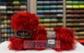 Poze Fir de tricotat sau crosetat - FANCY - ALIZE DECOFUR SIM - ROSU ADS - 56