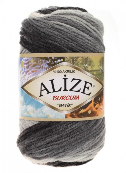 Poze Fir de tricotat sau crosetat - Fir ACRILIC ALIZE BURCUM BATIK DEGRADE 1900