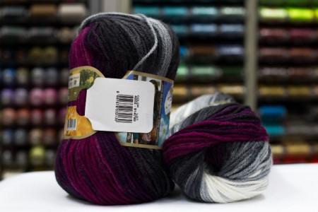 Poze Fir de tricotat sau crosetat - Fir ACRILIC ALIZE BURCUM BATIK DEGRADE 4202