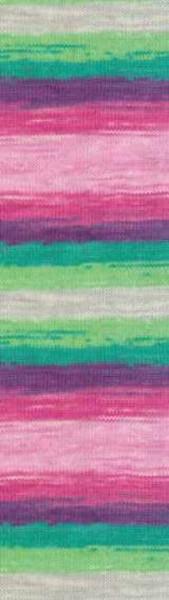 Poze Fir de tricotat sau crosetat - Fir ALIZE COTTON GOLD BATIK - DEGRADE 4147