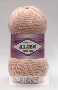 Poze Fir de tricotat sau crosetat - Fir ALIZE COTTON GOLD CREAM 161