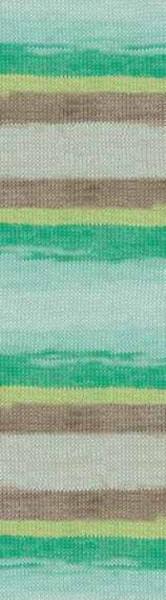 Poze Fir de tricotat sau crosetat - Fir BUMBAC 100% ALIZE MISS BATIK DEGRADE 3717