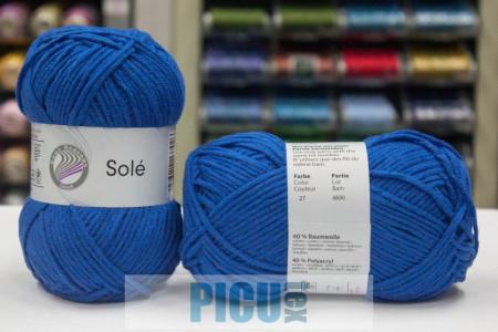 Poze Fir de tricotat sau crosetat - Fir GRUNDL - SOLE - ALBASTRU 27