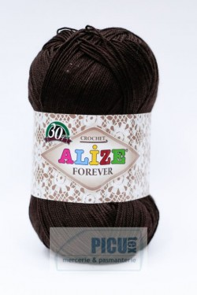 Poze Fir de tricotat sau crosetat - Fir microfibra ALIZE FOREVER MARO 26