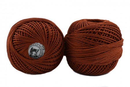 Poze Fir de tricotat sau crosetat - Fire Bumbac 100% ANGELICA ROMANOFIR BOBINA MARO 1300