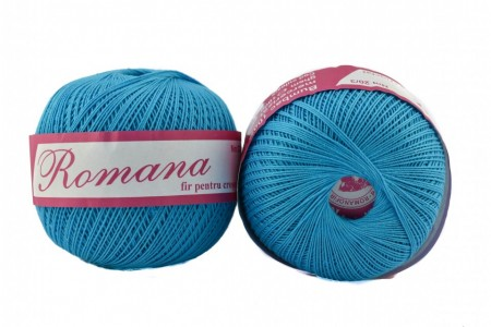 Poze Fir de tricotat sau crosetat - Fire Bumbac 100% ROMANA - ROMANOFIR BOBINA BLEO 94