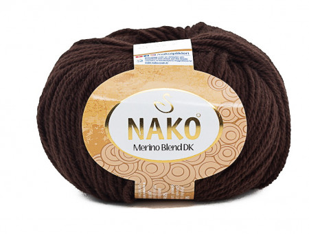 Poze Fir de tricotat sau crosetat - Fire din lana 100% Nako Merino Blend DK - MARO COD 282