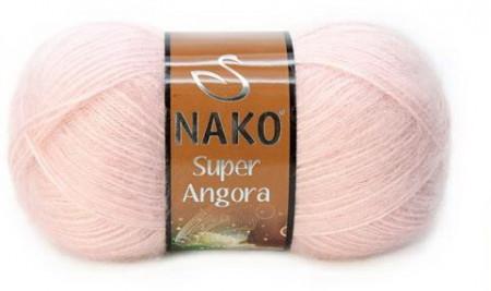 Poze Fir de tricotat sau crosetat - Fire tip mohair acril NAKO SUPER ANGORA ROZ 1479