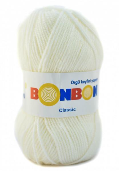 Poze Fir de tricotat sau crosetat - Fire tip mohair din acril BONBON CLASIC 98594