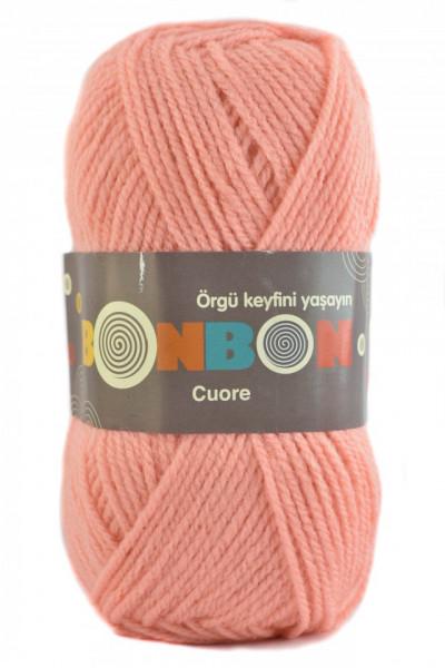 Poze Fir de tricotat sau crosetat - Fire tip mohair din acril BONBON CUORE - FREZ - 98227