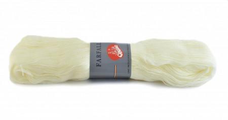 Poze Fir de tricotat sau crosetat - Fire tip mohair din acril Canguro Farfalle CREM 302