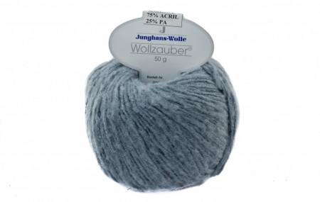 Poze Fir de tricotat sau crosetat - Fire tip mohair din acril CANGURO - Wollzauber - GRI  4