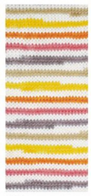 Poze Fir de tricotat sau crosetat - Fire tip mohair din acril degrade Nako Lolipop degrade 81118