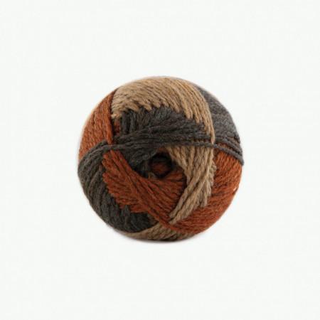 Poze Fir de tricotat sau crosetat - Fire tip mohair din acril Kamgarn Papatya Joyful degrade 08