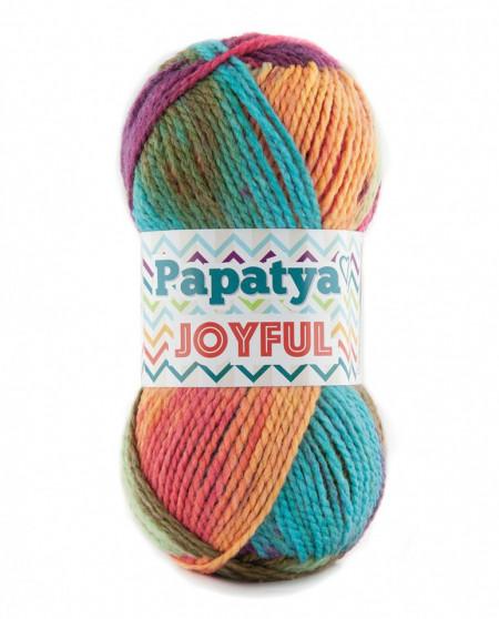 Poze Fir de tricotat sau crosetat - Fire tip mohair din acril Kamgarn Papatya Joyful degrade 22