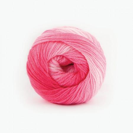Poze Fir de tricotat sau crosetat - Fire tip mohair din acril Kamgarn Papatya Batik degrade 05