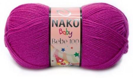 Poze Fir de tricotat sau crosetat - Fire tip mohair din acril Nako Baby MOV 10888