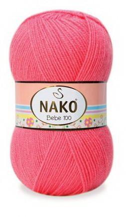 Poze Fir de tricotat sau crosetat - Fire tip mohair din acril NAKO BABY roz 236