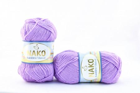 Poze Fir de tricotat sau crosetat - Fire tip mohair din acril Nako Baby MARVEL MOV 11062