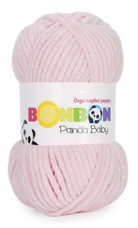 Poze Fir de tricotat sau crosetat - Fire tip mohair din acril NAKO BONBON PANDA BABY ROZ 3092