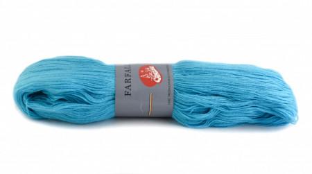 Poze Fir de tricotat sau crosetat - Fire tip mohair din acril (PNA) Canguro Farfalle ALBASTRU 337
