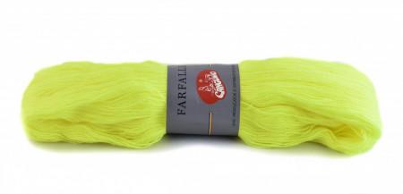 Poze Fir de tricotat sau crosetat - Fire tip mohair din acril (PNA) Canguro Farfalle GALBEN FOSFORECENT 380